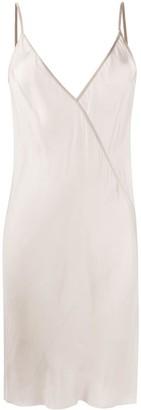 Rick Owens V-neck midi dress