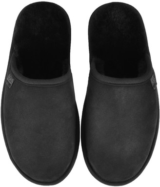 HUGO BOSS Home Slippers Black