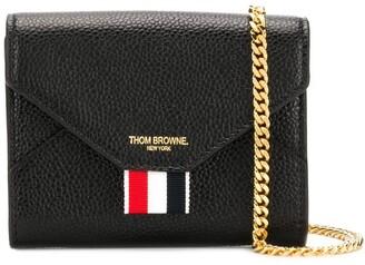 Thom Browne Pebbled Short Envelope Wallet