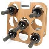 Rabbit® 8-Bottle Bamboo Wine Rack