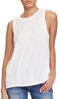 Polo Ralph Lauren Sleeveless Linen-Blend Top