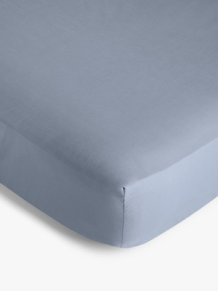 John Lewis & Partners 200 Thread Count Polycotton Standard Fitted Sheet