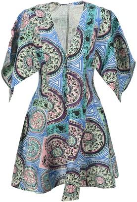 J.W.Anderson Venetian Print Mini Dress