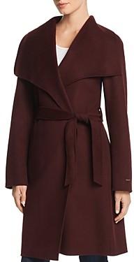 T Tahari Ellie Double-Face Coat
