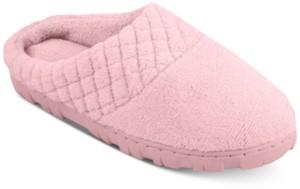 Muk Luks Women's Micro-Chenille Clog Slippers