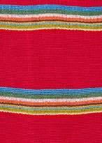 Paul Smith Men's Red Multi-Coloured Block Stripe Socks