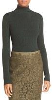 Diane von Furstenberg Women's Tess Metallic Turtleneck Sweater
