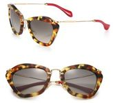 Miu Miu 55MM Modified Cat's-Eye Sunglasses