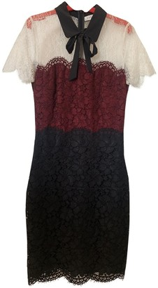 Sandro Multicolour Lace Dress for Women