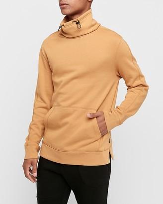 Express Fleece Funnel Neck Popover Sweatshirt