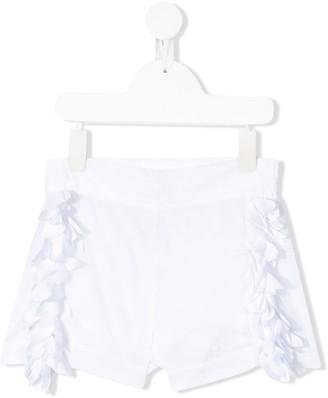 MonnaLisa Fringe Detail Shorts