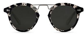 Krewe Unisex St. Louis Ii Sunglasses, 48mm