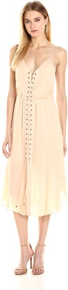 Haute Hippie Women's Front Lace Up Dress