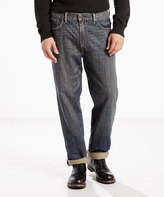 Levi's Medium Indigo 550 Worn-In Relaxed-Fit Range Jeans