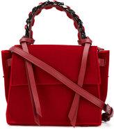 Elena Ghisellini mini chain tote bag - women - Velvet - One Size