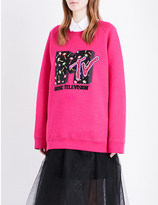 Marc Jacobs x MTV wool-blend sweatshirt