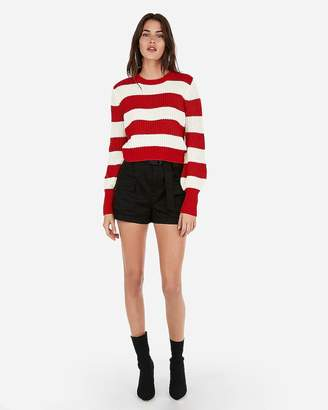 Express Olivia Culpo Striped Sweater