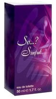 Red Carpet So...? Sinful Eau de Toilette 50ml