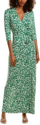 Diane von Furstenberg Abigail Silk Maxi Dress