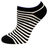 Kate Spade One-Pack Striped No Show Socks