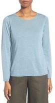 Eileen Fisher Women's Featherweight Merino Sweater
