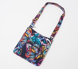 Vera Bradley Signature Print Zip Top Hipster Bag