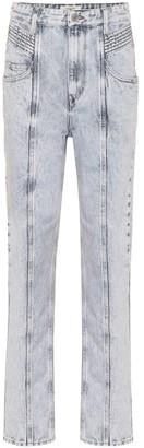 Etoile Isabel Marant Henoya high-rise straight jeans