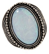 Forever 21 FOREVER 21+ Iridescent Faux Stone Ring