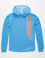 Under Armour Textured Tech Boys Lightweight Hoodie