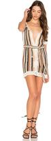 Cleobella Bardot Short Dress With Sash