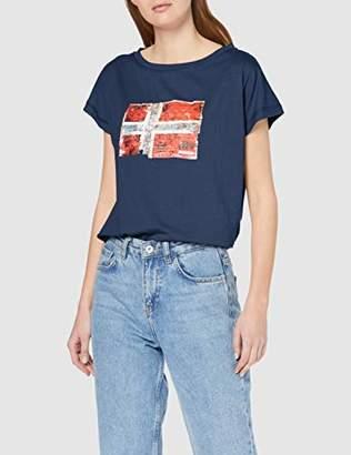 Napapijri Women's Seithem W T-Shirt,X-Large