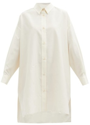 Isabel Marant Macali Silk Tunic Shirt - Ivory