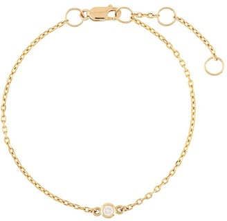 NATASHA SCHWEITZER 9kt Yellow Gold Diamond Bracelet
