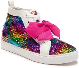 Jojo Siwa Rainbow Sequin Mid Sneaker (Toddler, Little Kid, & Big Kid)