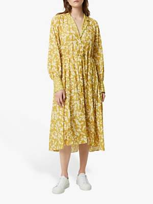 French Connection Bruna Shirt Dress, Cintronelle