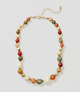 LOFT Mixed Bead Necklace
