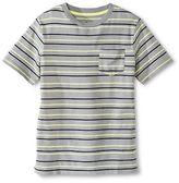 CircoTM Boys' Stripe Pocket Tee Gray/Lime - Circo