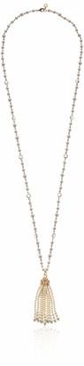 Anne Klein Women's 36In Tassel Pendant Necklace