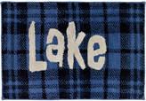 Avanti Lakeville Cotton Plaid Bath Rug Bedding