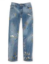 Ralph Lauren Paint-Splattered Jean