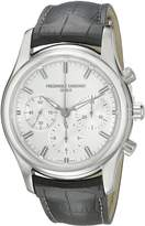 Frederique Constant Men's FC-396S6B6 Peking to Paris Chronograph Dial Watch