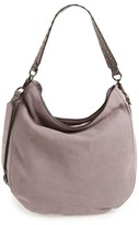 Rebecca Minkoff Convertible Nubuck Hobo - Purple
