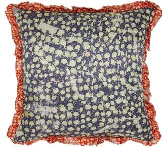 Preen by Thornton Bregazzi Floral-print Satin Cushion - Red Multi