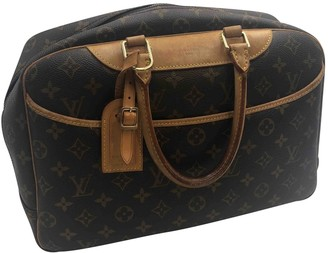 Louis Vuitton Deauville Other Cloth Handbags