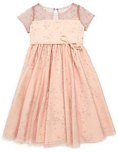 Marchesa Mini Little Girl's Posey Constellation Dress