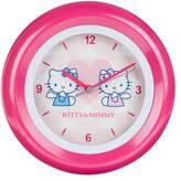 Hello Kitty Children's Wall Clock Analogue Pink 28–5 HK
