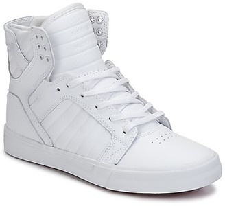 Supra SKYTOP CLASSIC women's Shoes (High-top Trainers) in White