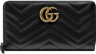 Gucci Marmont quilted leather wallet