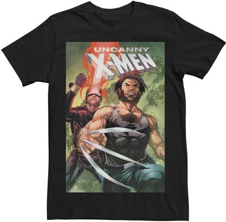 Wolverine Men's Marvel's Uncanny X-Men #12 Cyclops Comic Cover Tee