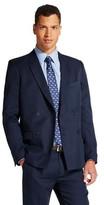 WD·NY Black Men's Double Breasted Suit Jacket Navy - WD-NY Black